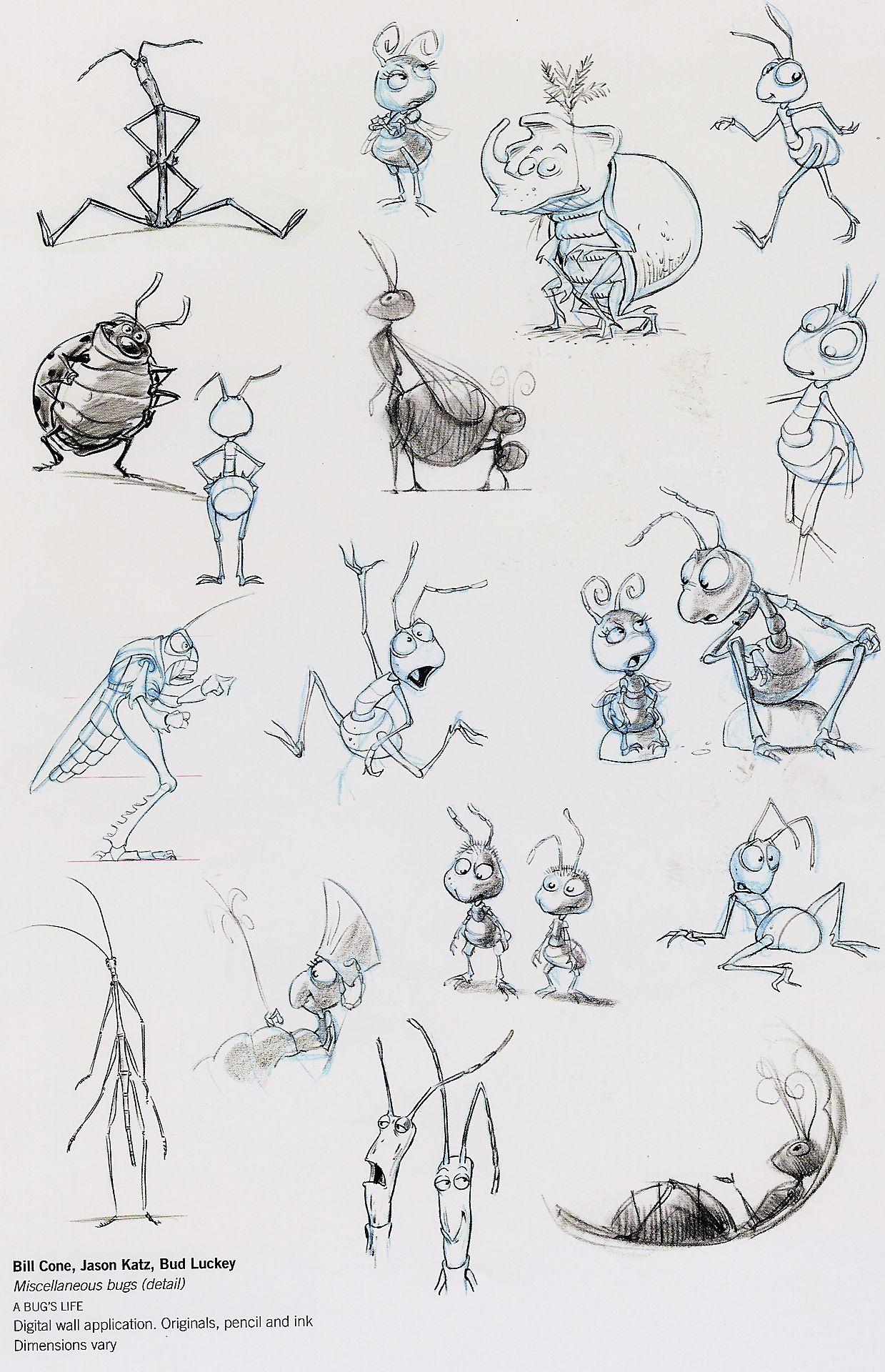 Disney A Bug S Life Concept Art