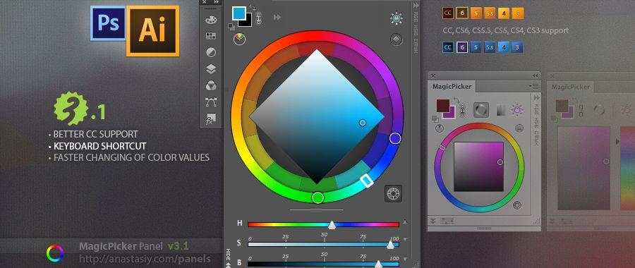 Magicpicker 3 1 Update Keyboard Shortcut Illustrator