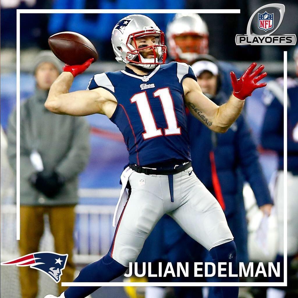 Pats News On Twitter Julian Edelman Nfl Playoffs New England Patriots