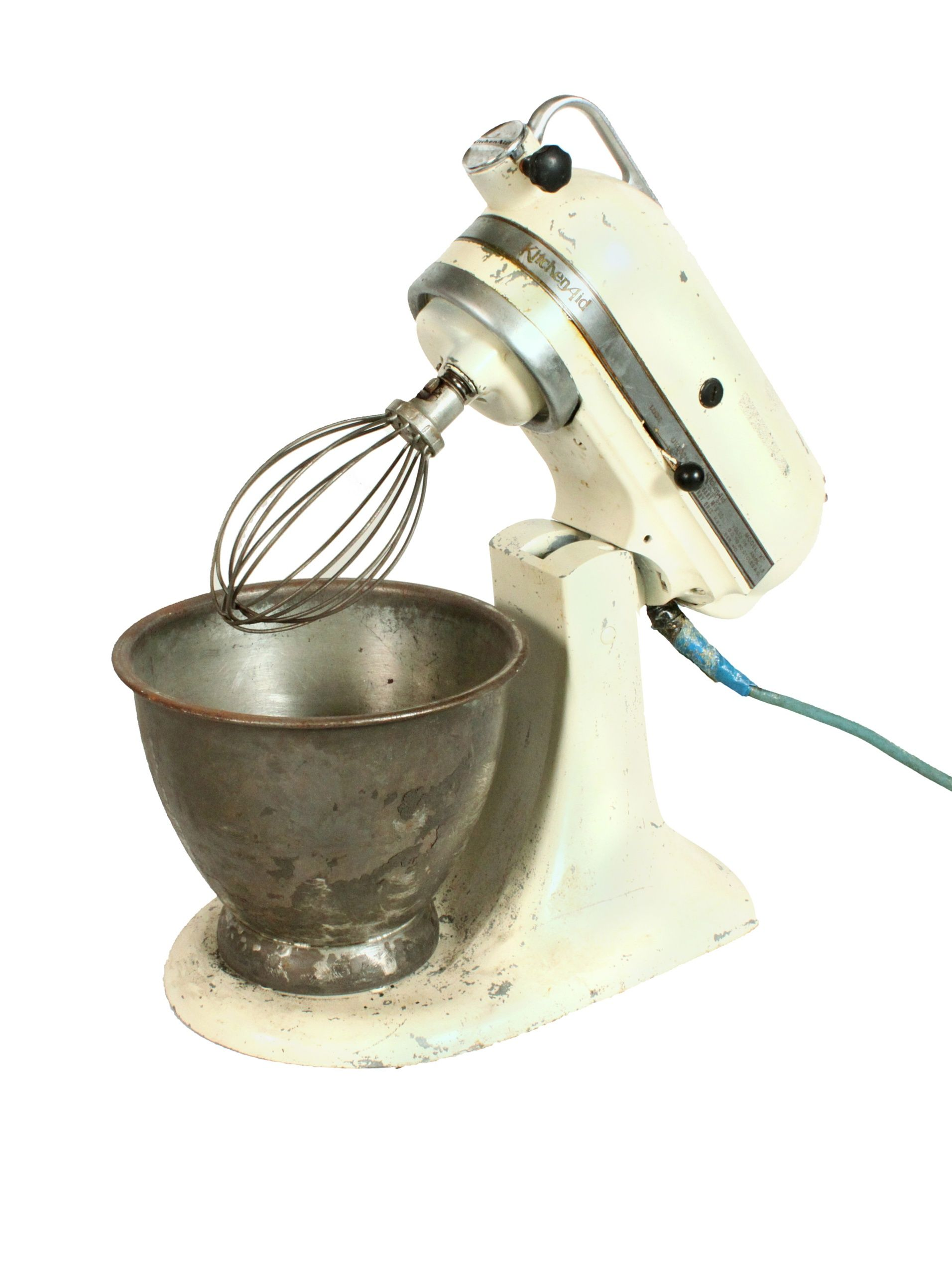 Kitchenaid Mixer, Cream Add Vintage Charm To Your Kitchen With This Iconic  Design; For Decorative Use Only Mixer