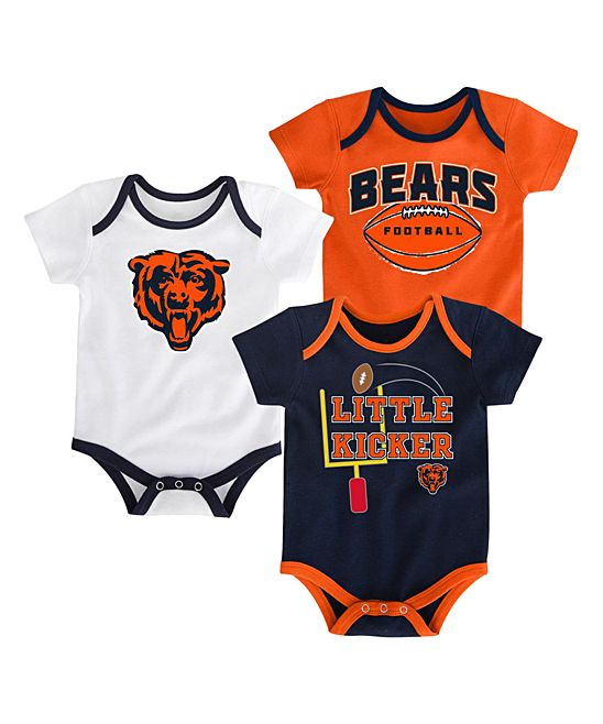 32eb70d3b16c8 Chicago Bears Bodysuit Set - Infant | Products | Baby boy outfits ...