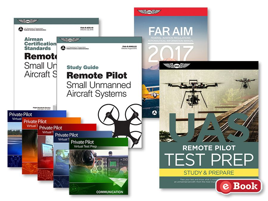 891223fceec This UAS eKit will prepare you for the FAA Remote Pilot Knowledge exam.  Includes