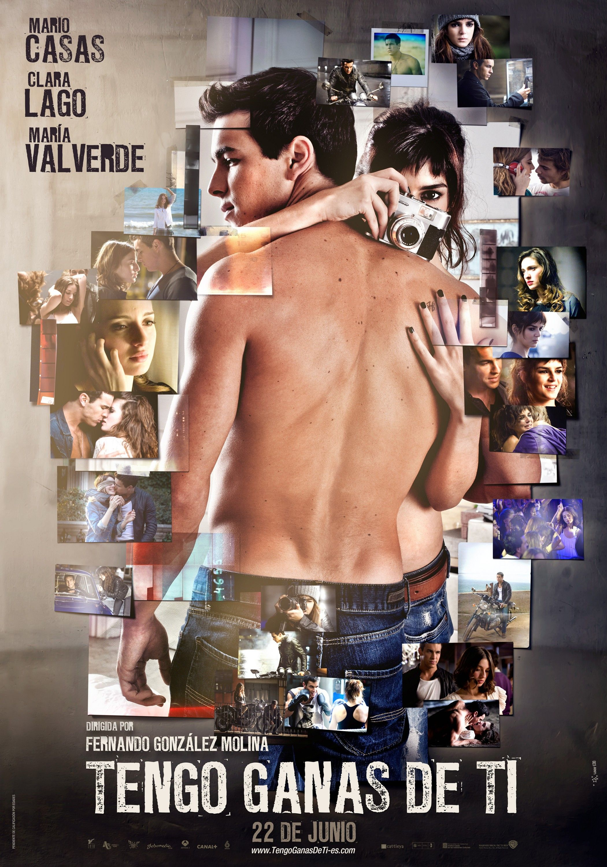 Tengo Ganas De Ti 2012 The Sequel Of Three Meters Above The Sky Starts With The Return Of H To His Hometow Romantic Comedy Movies Spanish Movies Film Books