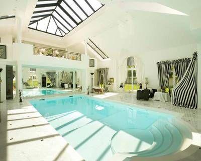 wintergarten mit pool, innenansicht wintergarten mit pool   baseny   pinterest   castles, Design ideen