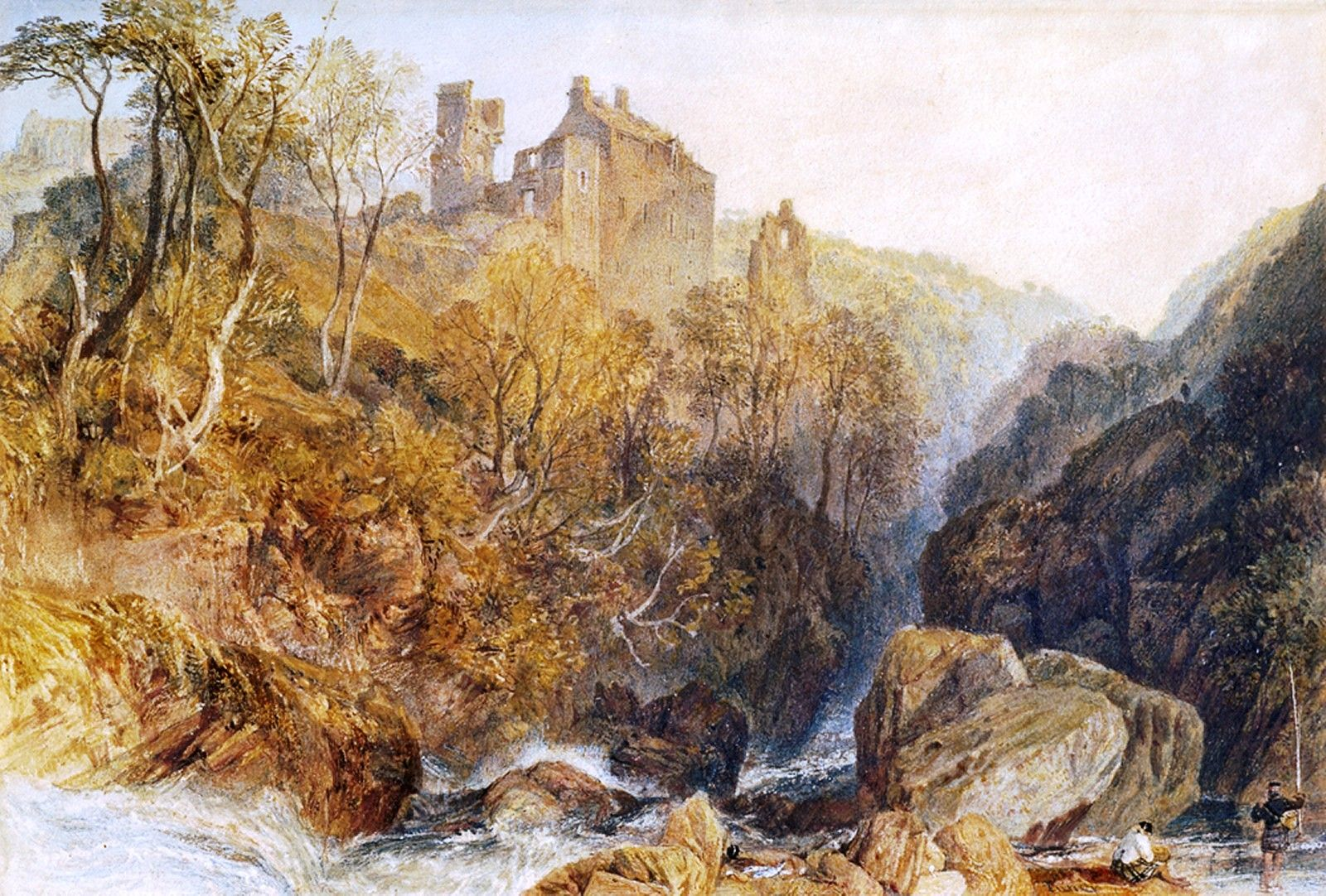 """J.M.W. Turner (17751851), """"Rosslyn Castle"""" Indianapolis"""
