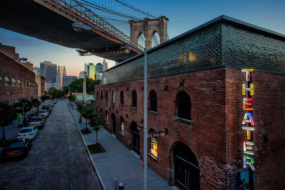 Over the past two years, the 1860's Tobacco Warehouse that