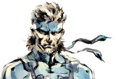 Solid Snake Metal Gear Solid 2 Sons Of Liberty Snake Metal
