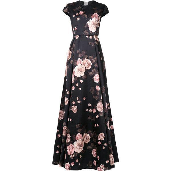 Rochas floral print gown (9 3d72815e569
