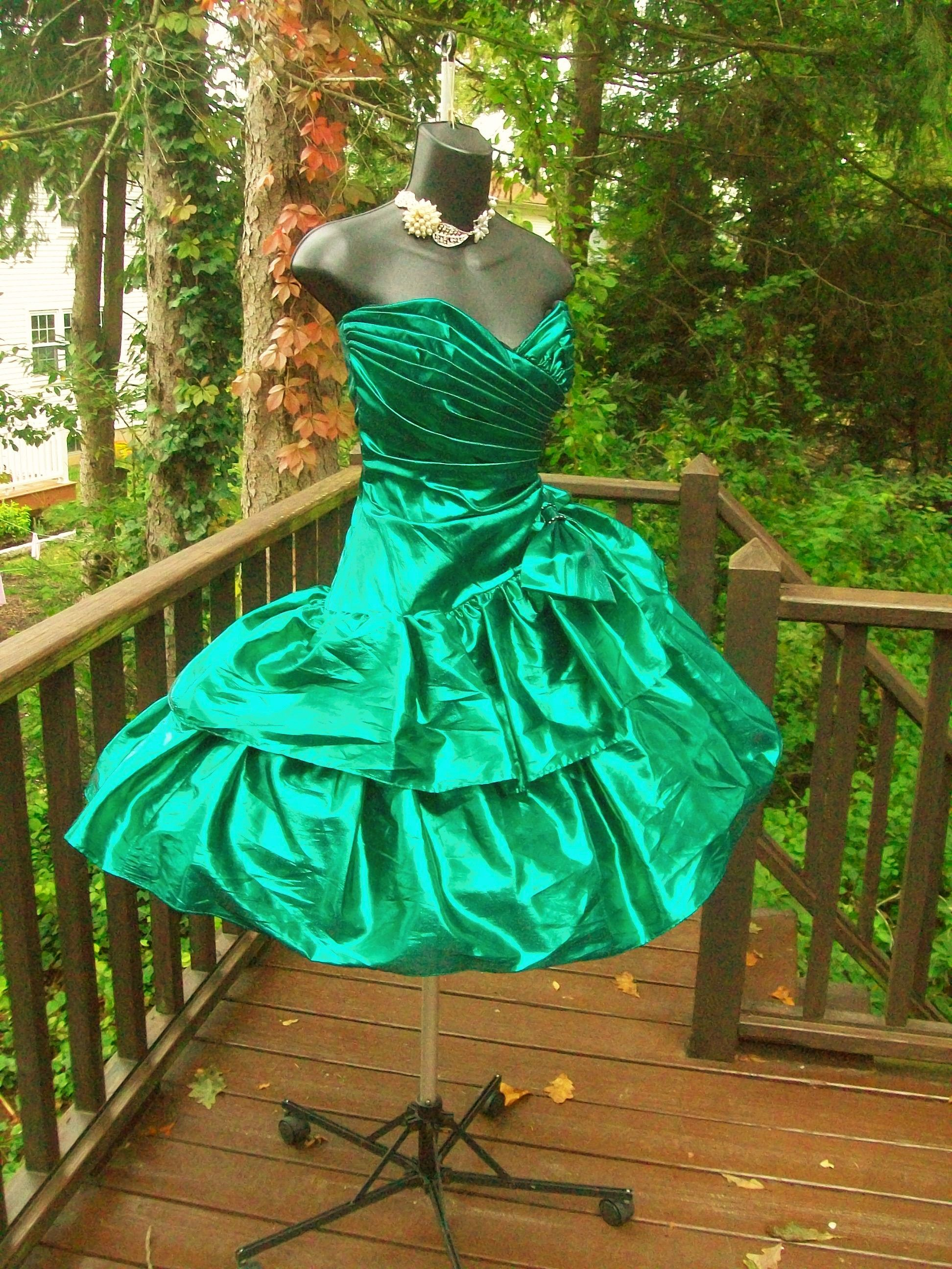 80S PROM DRESS SOLD BUT HAVE MANY MORE http://cgi.ebay.com/ws ...