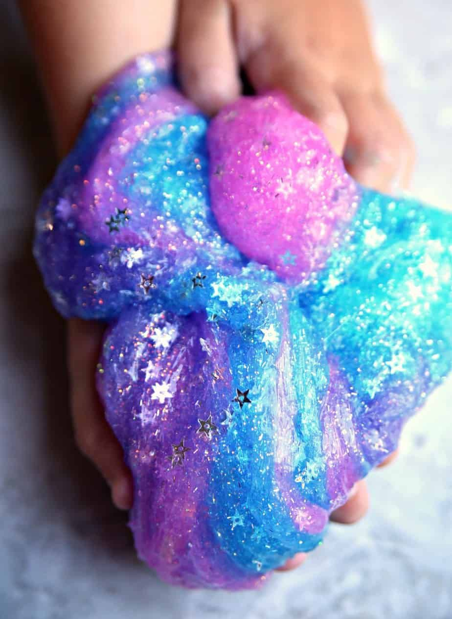 Galaxy Slime Tutorial Fun Activity For Kids Happy Go Lucky