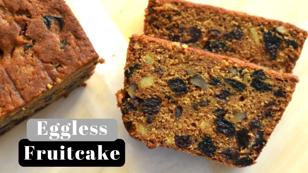 Eggless Fruit Cake With Buttermilk Simple And Easy Recipe Youtube In 2020 Moist Fruit Cake Recipe Cake Recipes Fruitcake Recipes