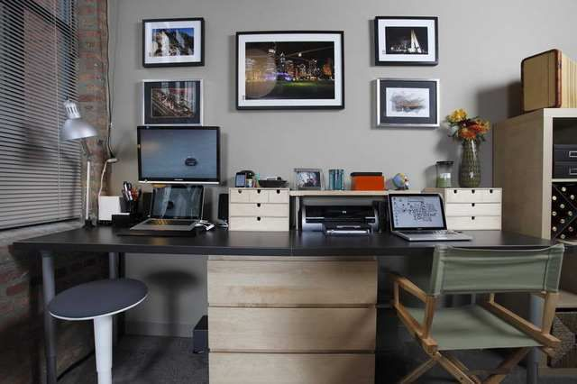 2 Person Office Desk Office Design For Two