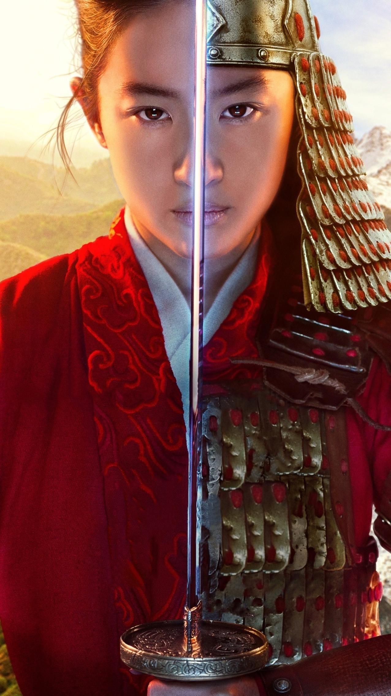 Mulan 2020 Phone Wallpaper Moviemania In 2020 Mulan Watch Mulan Mulan Movie