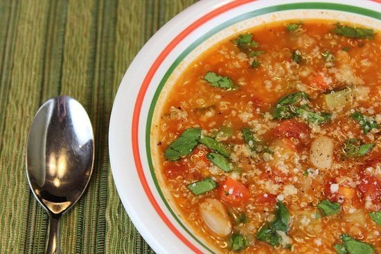 Quinoa Minestrone Soup Recipe