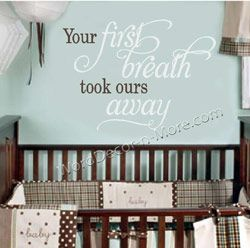 LOVE This Quote Guess Im Going To Need To Have Another Baby - Baby nursery wall decals sayings