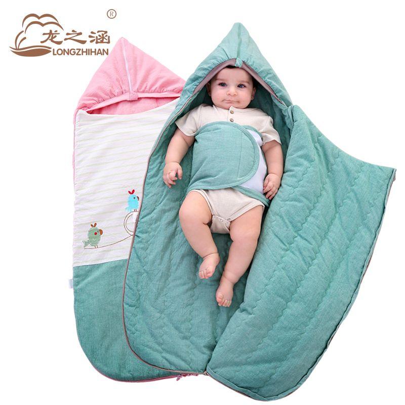 Envelopes For Newborns Baby Sleeping Bag Spring Thin Outdoor Slaapzak Cotton Sleep Sack Swaddle Swaddling Sleepsacks