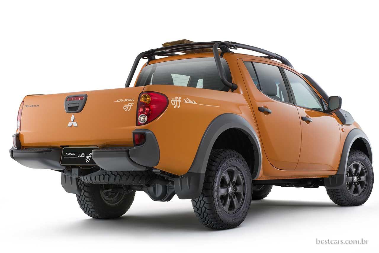 e7d9ee012 Mitsubishi L200 Savana: série especial com canal Off | Cars, trucks ...