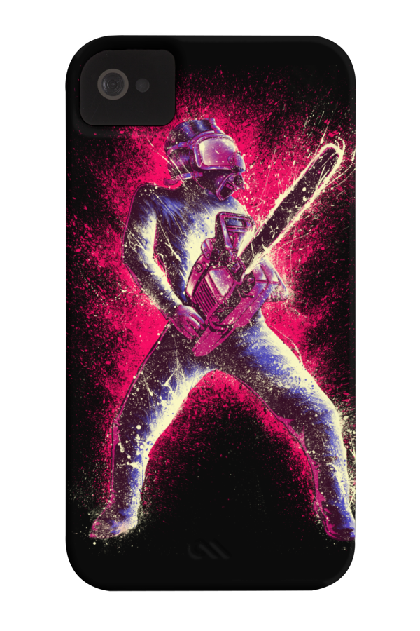 Pink chainsaw - Phone Case for iPhone 4/4s,5/5s/5c, iPod Touch, Galaxy S4