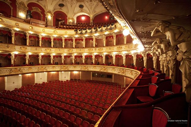 Croatian National Theatre Joins European Opera Houses In Free Live Streaming Croatia Week National Theatre City Of Zagreb Zagreb