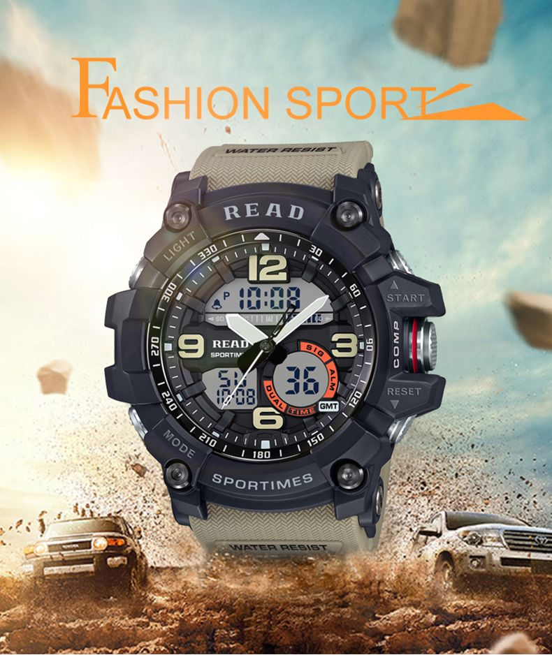 Mens Sport Digital Watch [ 6 Color Available ] Best