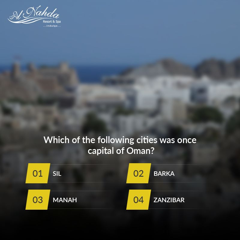 Ready For The Weekly Quiz Trivia Muscat Omanquiz Alnahdaresortandspa Guesstheanswer Quiztime Aboutoman Knowoman Omanquiztime With Images Quiz Zanzibar Oman