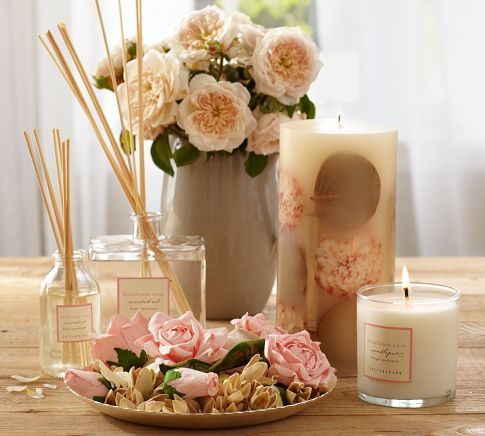 Delicately Scented Candles Diffusers And Potpourri Are Infused With A Blend Of Rose And White Freesia Candles Candle Store Jewelry Candles
