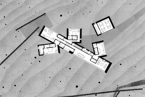 Plans of Architecture — Peter Zumthor, Williams Residence