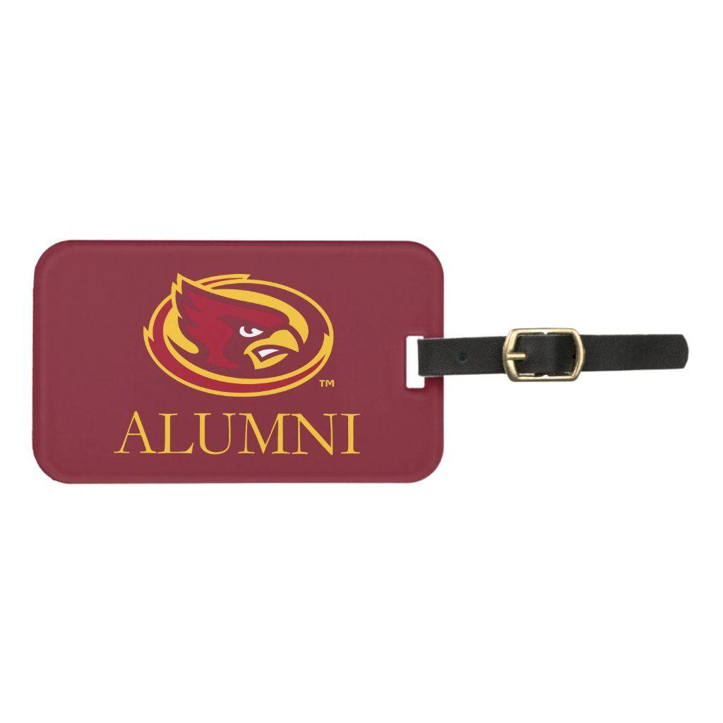 Iowa State University Iowa Alumni Bag Tag #iowastateuniversity