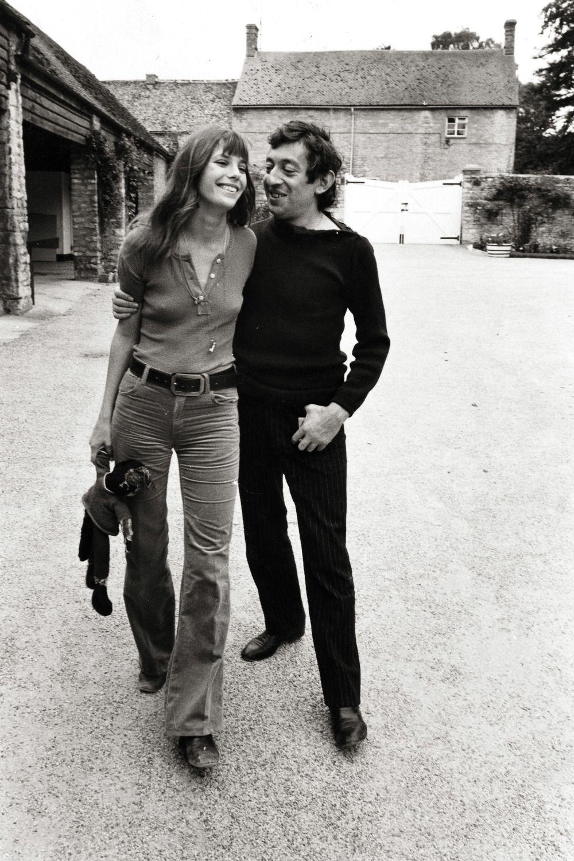 Jane Birkin and Serge Gainsbourg. Oxford 1969 Photograph by Frank Habicht