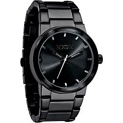 nixon men s a160 001 cannon all black stainless steel watch by nixon men s a160 001 cannon all black stainless steel watch by nixon