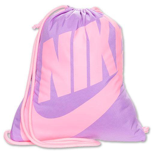e6a41bfe5aa31 Nike Heritage Gymsack Lightweight Bag:Atomic Purple/Polarized Pink | Finish  Line. $9.99