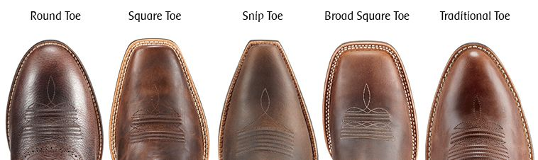 0beadd36071 The Cavender's Guide to Cowboy Boot Toe Styles
