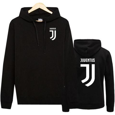 7315a9893 Eqmpowy Juventus Print Hoodies Men 2017 Autumn Winter Men Women Fleece Long  Sleeve Sportswear pullover Hooded Sweatshirt