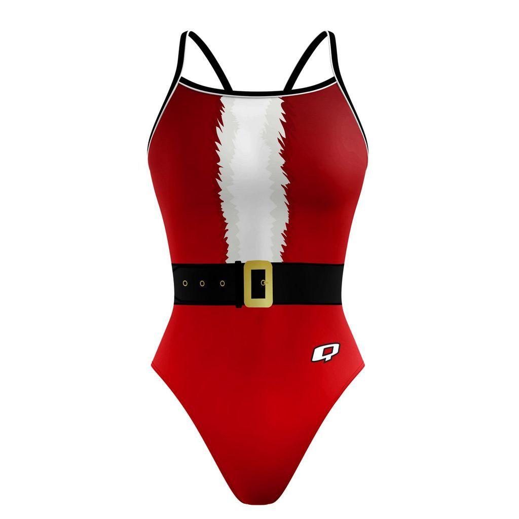 Christmas In July Swimsuit.Santa Baby Sunback Tank Q Sunback Tank Suits Santa Baby