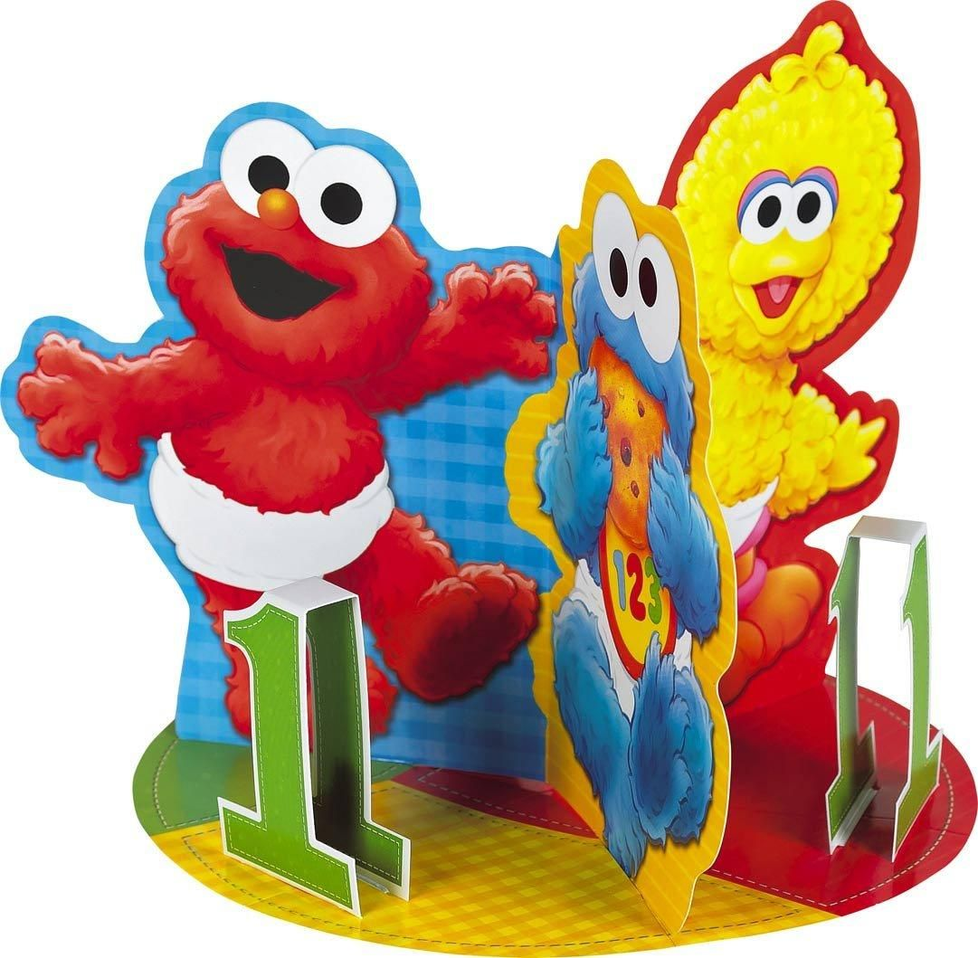Come See The Cutest Sesame Street Birthday Party Supplies And Get Great Ideas For Your Childs First