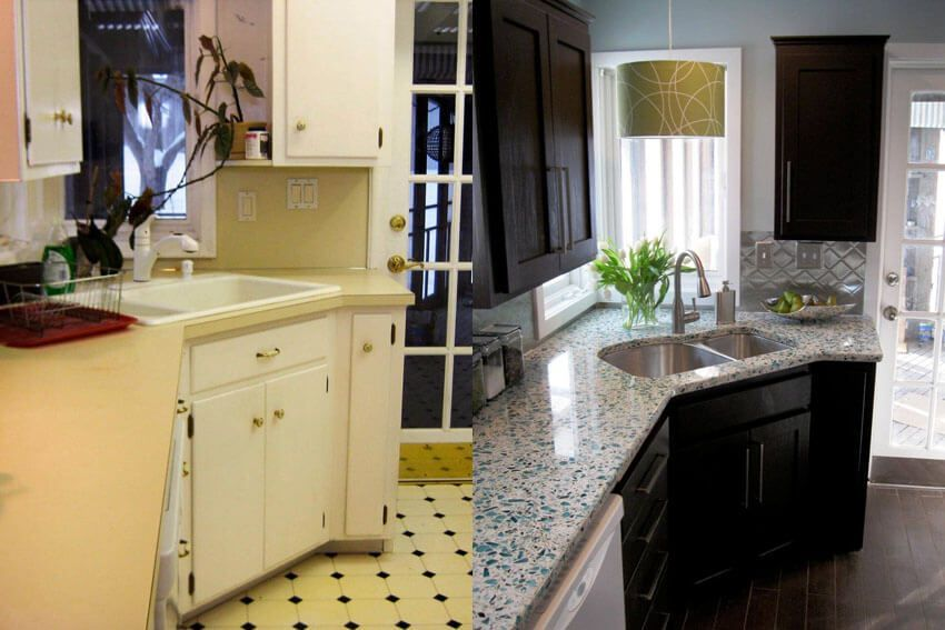 5 Creative Before and After Kitchen Makeovers on A Budget Kitchen