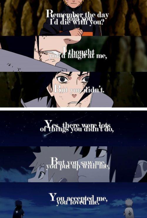 "Photo of Naruto & Sasuke Poem ""But You Didn't""   Anime Amino"