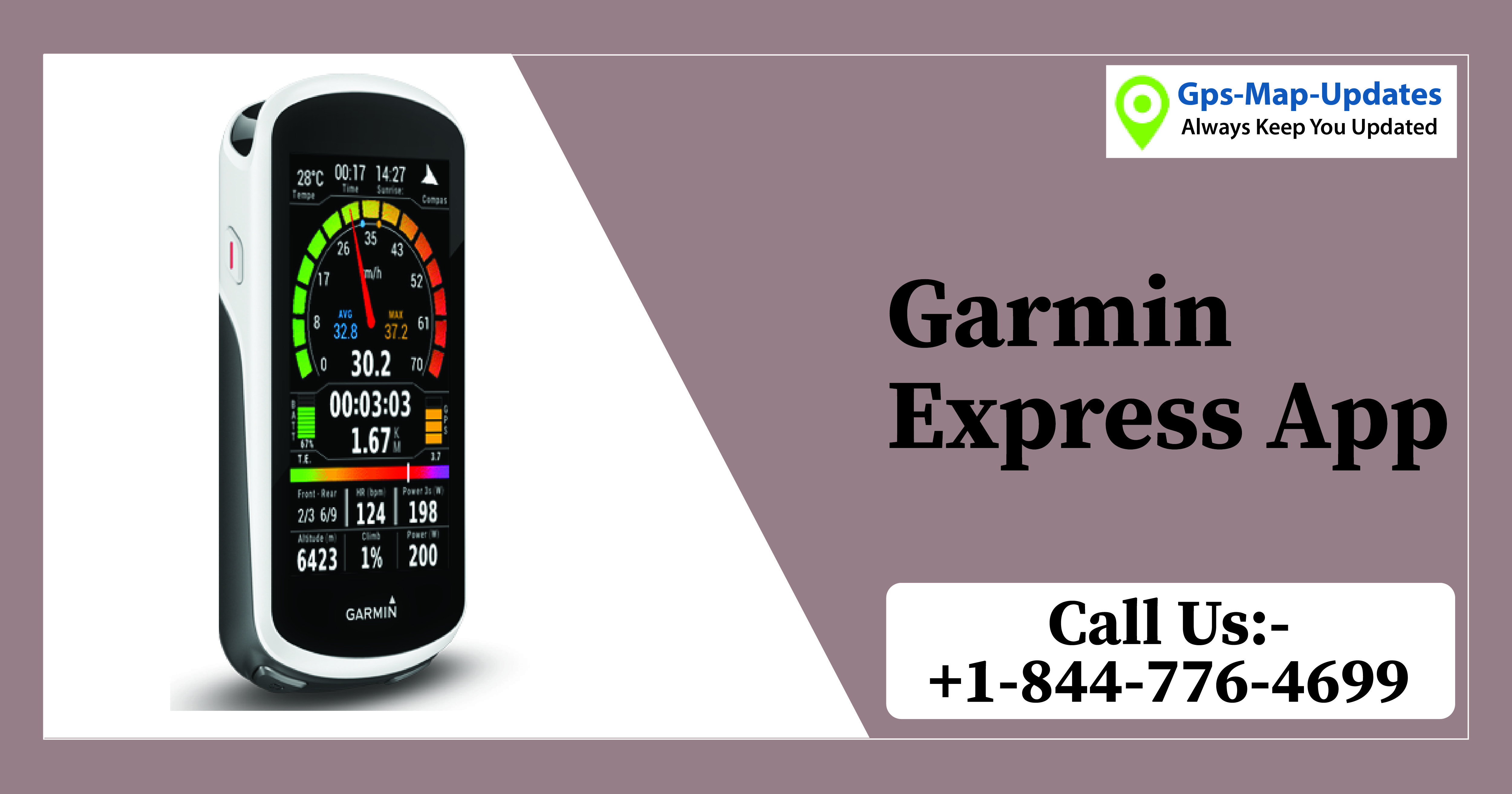 If you have any issue in your Garmin express app and need