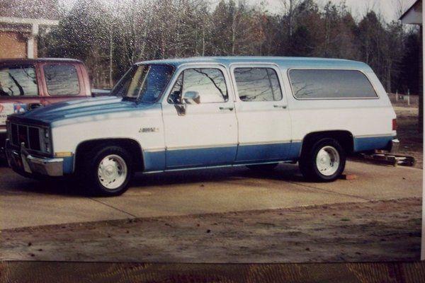 My Old 86 Suburban Suburban Riding Van