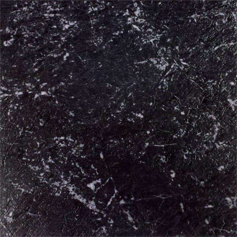 Winton Ideal Series 457 X 457mm Black Marble Self Stick Vinyl Tile 16 Pack Vinyl Tile Self Stick Vinyl Tile Black Marble