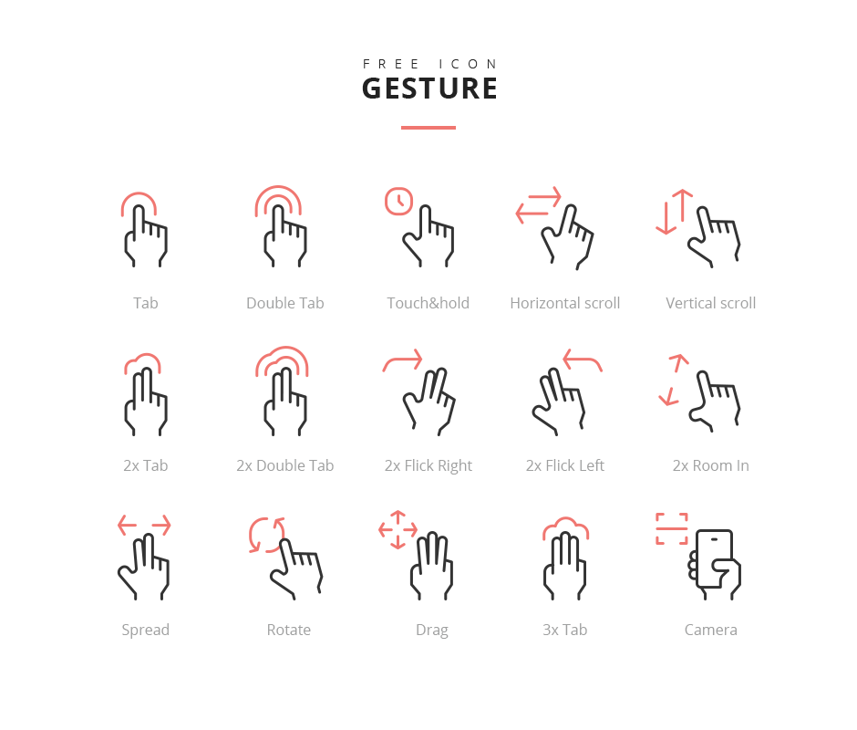Rena Gesture Icon Png By Rena One Developer Icon Free Icons Free Icon Packs