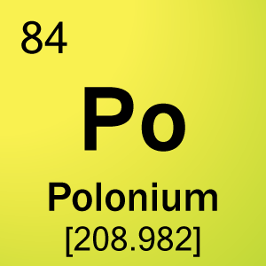 Radium and polonium symbols element 84 polonium chemistry periodic table urtaz Choice Image