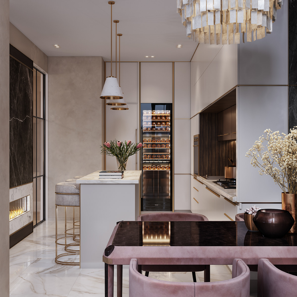 Two Bedroom Apartments London: 2 BEDROOM APARTMENT INTERIOR DESIGN On Behance