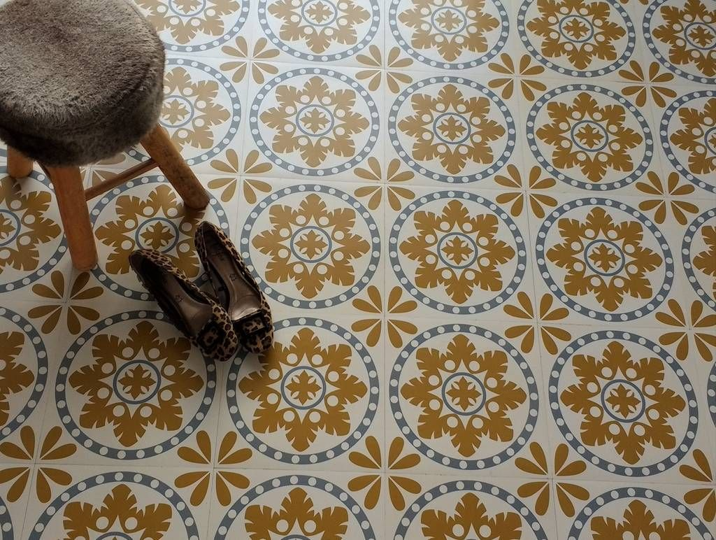 Retro Vinyl Tegels : Sorzano vinyl floor tiles house in flooring