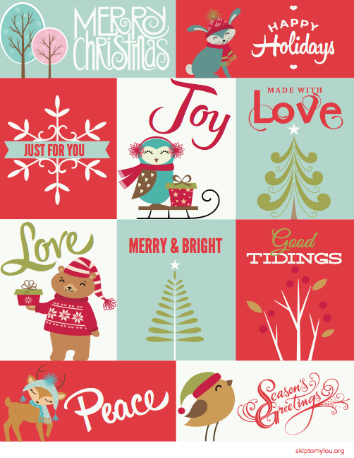 Free Christmas Printable Gift Tags Free Christmas Printables Christmas Gift Tags Printable Christmas Tags Printable