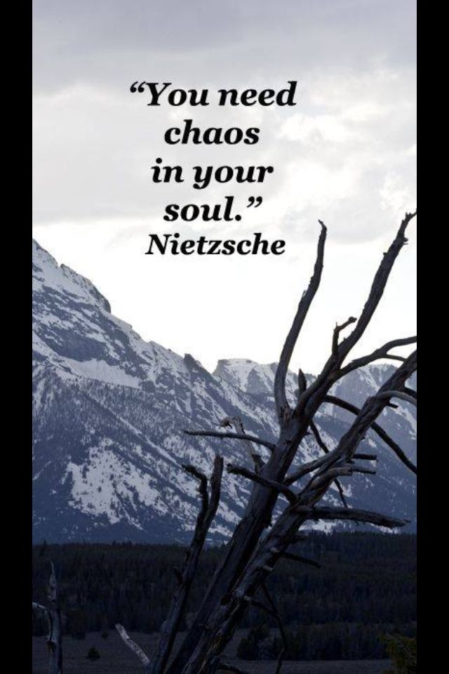 You Need Chaos In Your Soul Quotes Pinterest Quotes Words