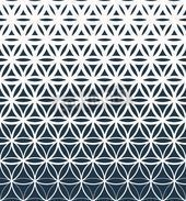 Geo Flower Gradient Wall Mural  Geometric Wallpaper Pattern  Murals Your Way Geo Flower Gradient This image has get 5 repins Author anne ostsee