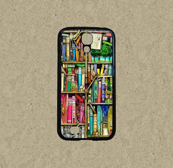 book shelf,Samsung Galaxy S5 case,Samsung Galaxy Note 3 case,Samsung Galaxy S4 case,Samsung Galaxy S3/S4 mini case,htc one m7/m8/x/s case by Ministyle360, $14.99