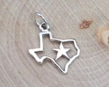 Texas charm texas star charm texas pendant texas cut out charm texas charm texas star charm texas pendant texas cut out charm sterling mozeypictures Choice Image