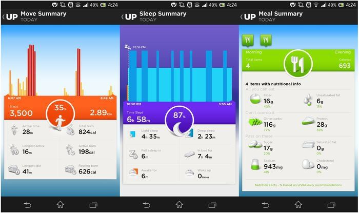Jawbone UP 3.0 app update adds UP24 Bluetooth sync - Android Community